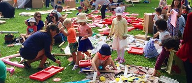 Create and Imagine - A Cardboard Junk Adeventure Playground