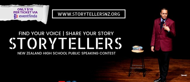 Storytellers NZ: High School Public Speaking Contest 2019
