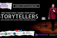 Image for event: Storytellers NZ: High School Public Speaking Contest 2019