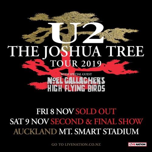 U2 2020 Tour.U2 The Joshua Tree Tour 2019 Auckland Eventfinda