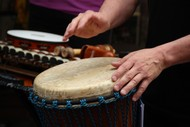 Open Workshop, West African Drumming with Maganui Stewart