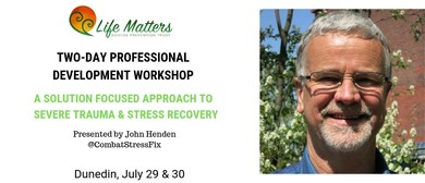Solution Focused Approach to Severe Trauma & Stress Recovery