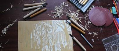 Linocut Printmaking Weekly Daytime Classes