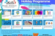 sKids Wairakei July School Holiday Programme
