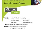 Migrant Connect - How to Be Safe In New Zealand