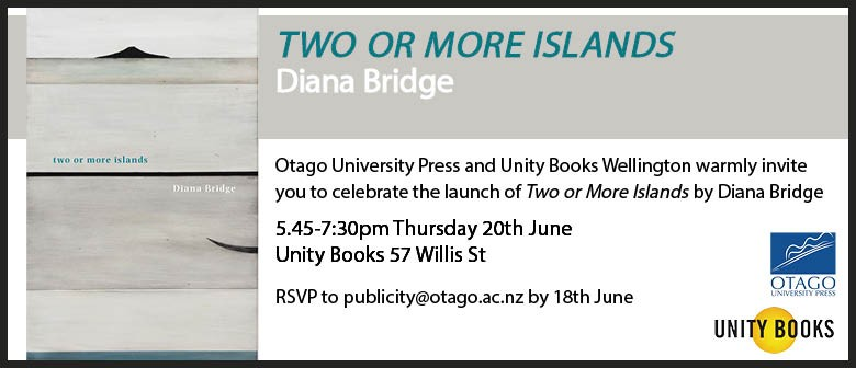 Book Launch - Two or More Islands by Diana Bridge