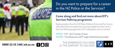 EIT Tairāwhiti Services Pathway Info Evening
