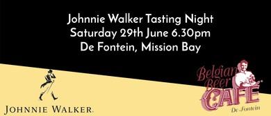 Johnnie Walker Tasting Night