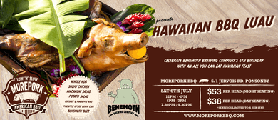 Hawaiian BBQ Luau