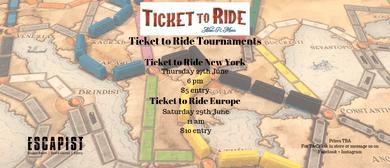 Ticket to Ride Europe Tournament