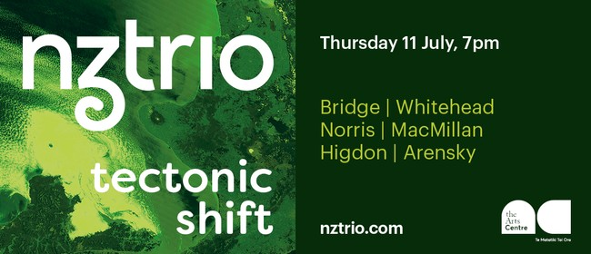 NZTrio: Tectonic Shift