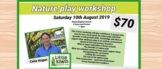 Nature Play Workshop with Celia Hogan