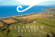 Image for event: Wine Tasting & Canapes with Clearview Estate