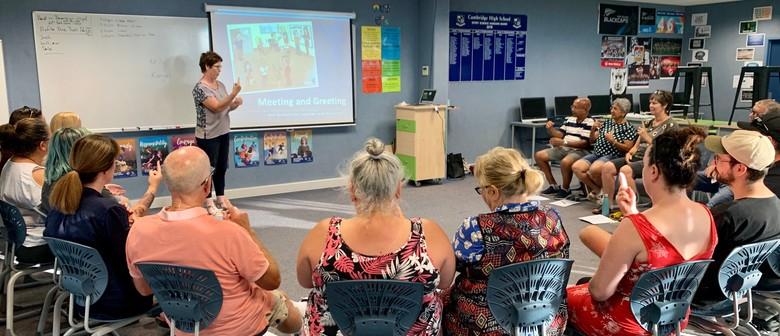 NZ Sign Language Level 1a Beginner
