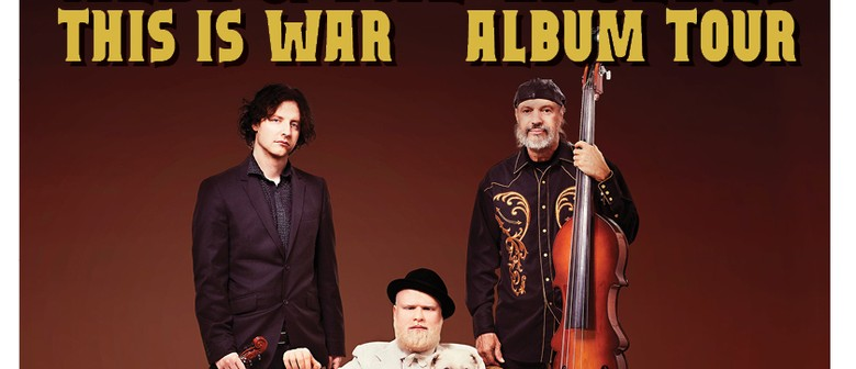 """Albi & The Wolves """"This Is War"""" Album Tour"""