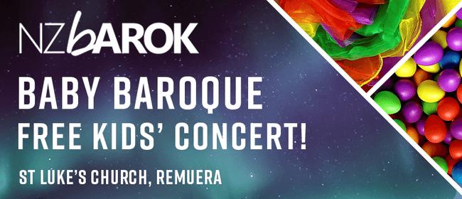 Baby Baroque Free Kids' Concert!