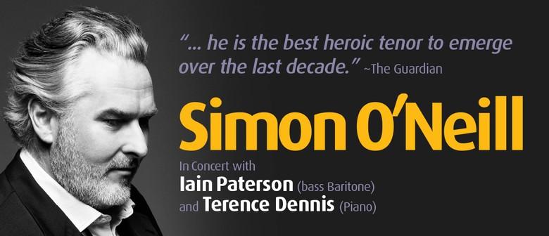 Simon O'Neill in Concert