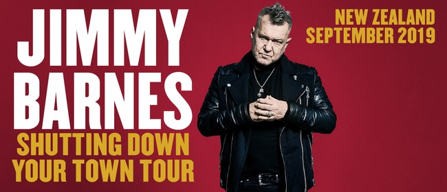 Jimmy Barnes – Shutting Down Your Town Tour