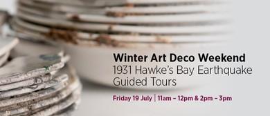 1931 Hawke's Bay Earthquake Guided Tours