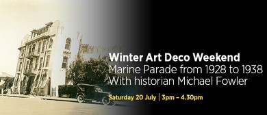 Marine Parade from 1928-1938 with Historian Michael Fowler