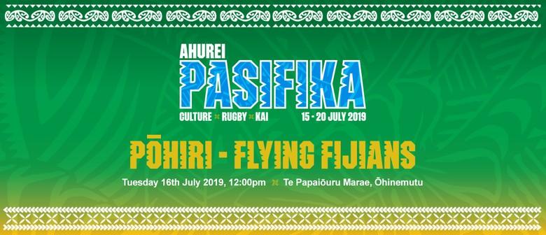 Ahurei Pasifika Pōhiri - Flying Fijians