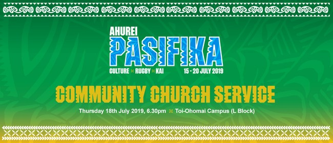 Ahurei Pasifika Fijian Community Church Service