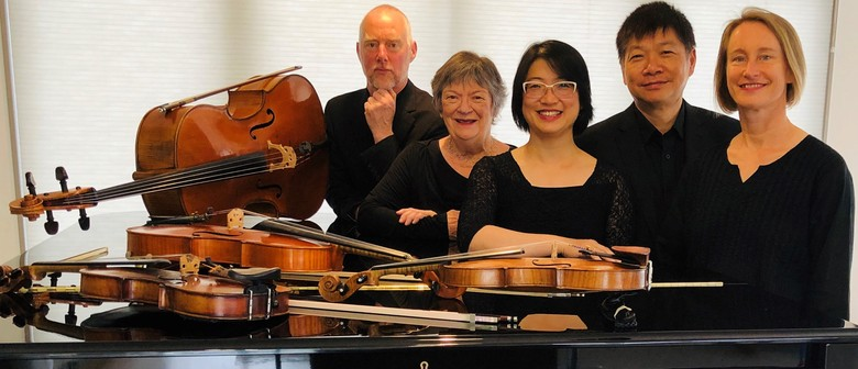 Aroha String Quartet with Diedre Irons (Piano) - Waikanae