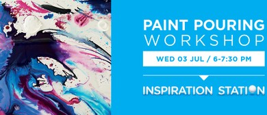 Warehouse Stationery Paint Pouring Workshop