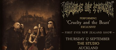Cradle of Filth Exclusive NZ Show