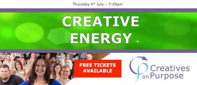 Creatives On Purpose - Creative Energy 2019