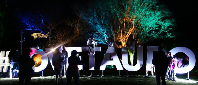 Unison Light Hub - Taupo Winter Festival 2019