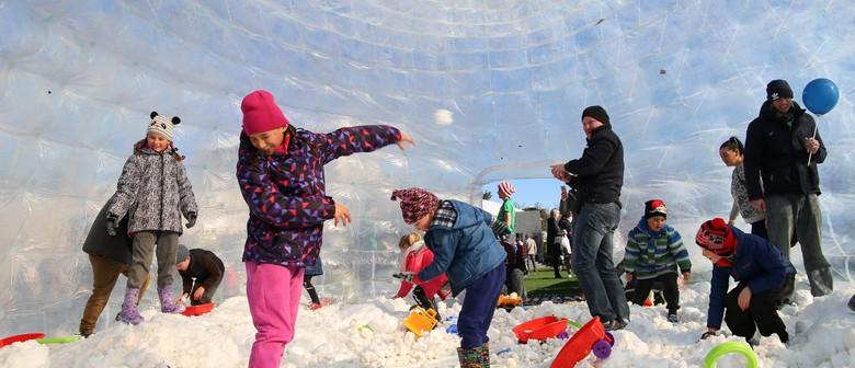 Mt Ruapehu Snow Globe - Taupo Winter Festival 2019