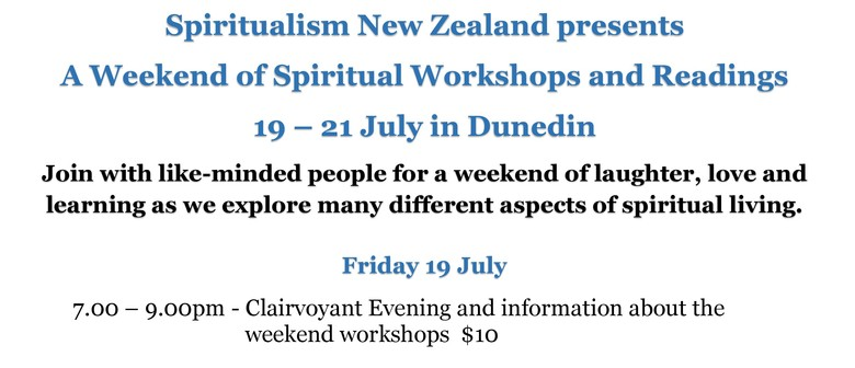 A Weekend of Spiritual Workshops and Readings