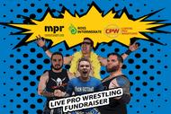 Image for event: Live Pro Wrestling Fundraiser