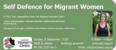 Self Defence for Migrant Women