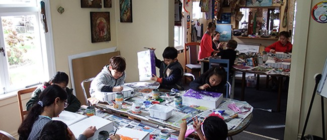 Winter Holiday Art School