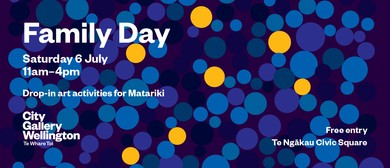 Family Day: Drop-in Art Activities for Matariki