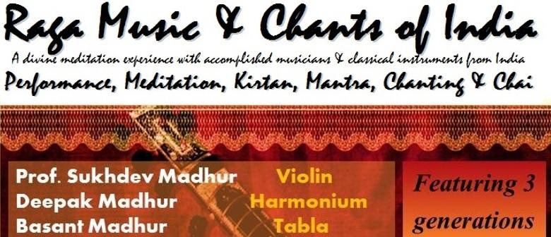 Raga Music & Chants of India - Tauranga - Eventfinda