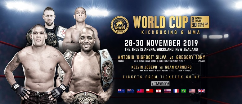 Kickboxing & MMA World Cup New Zealand - Auckland - Eventfinda