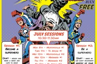 Image for event: Superhero Smackdown School Holiday Sessions
