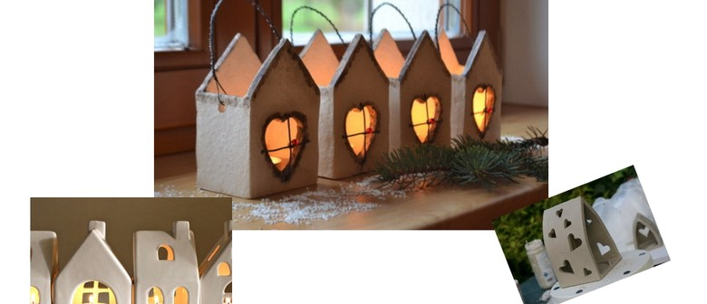 Make A Clay House - Workshop For Kids