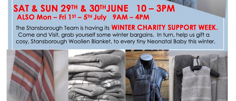 Stansborough Winter Charity Support Weekend