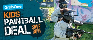 School Holiday Paintball Fun