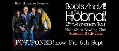 Hobnail 25th Anniversary Boots And All Tour