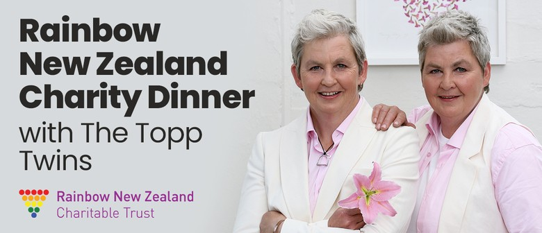 Rainbow NZ Charity Dinner with the Topp Twins