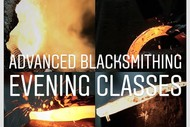 Image for event: Advanced Blacksmithing Evening Class - (7 Sessions)