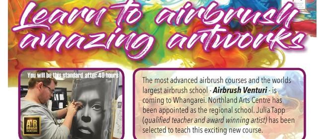 Airbrush Venturi Realist Airbrushing Course