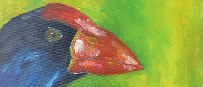 Paint and Wine Night - Pukeko - Paintvine