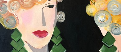 Paint and Wine Night - Flapper Girl - Paintvine