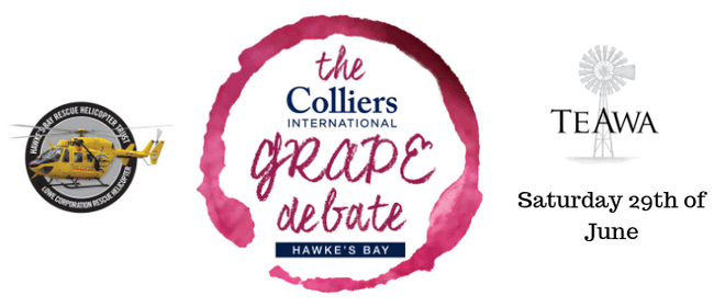 The Colliers International Grape Debate Hawkes Bay